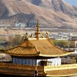Stock Photo: Monastery in Tibet