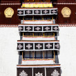 Tibetian decor - Stock Photo