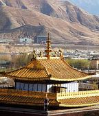 Monastery in Tibet — Foto Stock