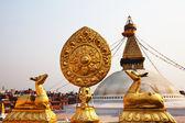 Kathesimbhu stupa — Stock Photo