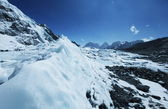 Glacier Khumbu — 图库照片
