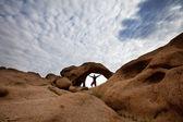 Arch in Mongolia — Zdjęcie stockowe