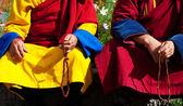 Monks in Mongolia — Stock Photo