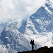 Hike in Himalaya - Stock Photo