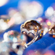 Jewel on blur background — Stock Photo #4558922