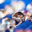 Jewel on blur background — Stock Photo