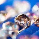 Jewel on blur background — Stock Photo