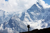 Hike in Himalaya — Stock Photo