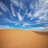 Dunas no deserto de gobi — Fotografia Stock