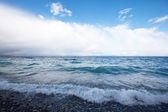 Khubsugul 湖、モンゴルの波 — ストック写真