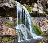Waterfall in Crimea — Stock Photo