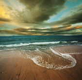 Ocean at sunset — Stock Photo