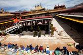 Monasterio en tibet — Foto de Stock