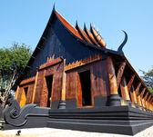 Black Temple,Thailand — Stock Photo