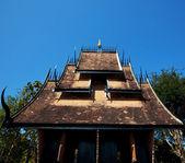 Templo negro — Foto de Stock