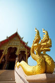 Temple in Chiangrai — Stock Photo