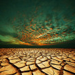 Drought land — Stockfoto