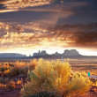 Monument valley — Stock Photo #5122132