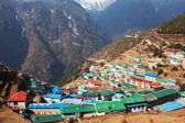 Namche Bazaar in Nepal — Stock Photo