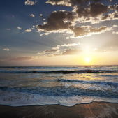 夕暮れの海 — ストック写真