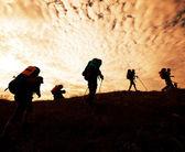 Hiking in Crimea — Stock Photo