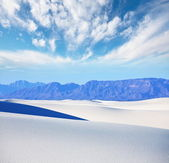 White desert — Stock Photo