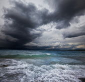 Sea in storm — Stock Photo