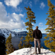 Crater lake — Stock Photo #5232742