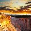 Bryce canyon in USA - Stock Photo