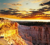 Bryce canyon in USA — Stock Photo
