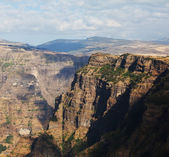 Simien mountains,Ethiopia — Stock Photo
