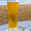 Beach side Beer — Stock Photo #4486507