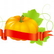 Royalty-Free Stock Vectorielle: Halloween pumpkin