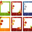 Christmas cards - Stock Vector