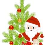 Christmas staff — Stock Vector