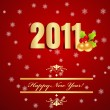 New year background - Stock Vector