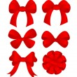 Set bows — Stock Vector #4349730