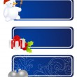 Christmas labels — Vector de stock #4349744