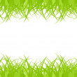 Seamless green grass — Vettoriali Stock
