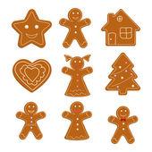 Christmas cookies — Stock Vector