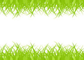 Seamless green grass — Stock Vector