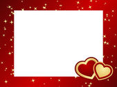 Valentines frame background. — Stock Vector