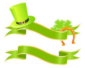 Good luck or st. Patrick — Stock Vector