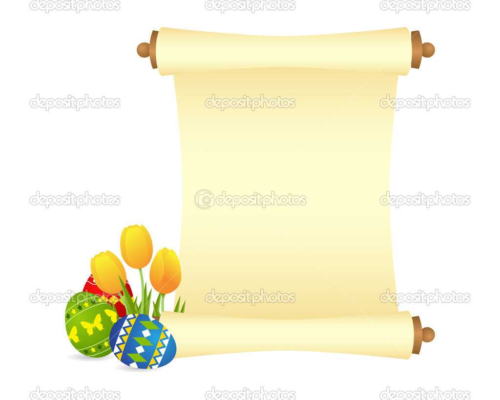 Easter celebration background. Vector illustration, isolated on a white — Stock Vector #5230624