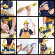 Stock Photo: Mature contractor