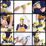 Mature contractor — Stock Photo