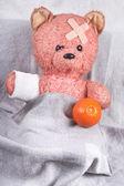 The patient bear cub — Stock Photo