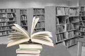 Library. Encyclopedia — Stock Photo