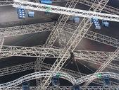 Stage illumination light equipment and projectors — Stock Photo
