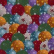 Royalty-Free Stock Vektorgrafik: Seamless christmas baubles